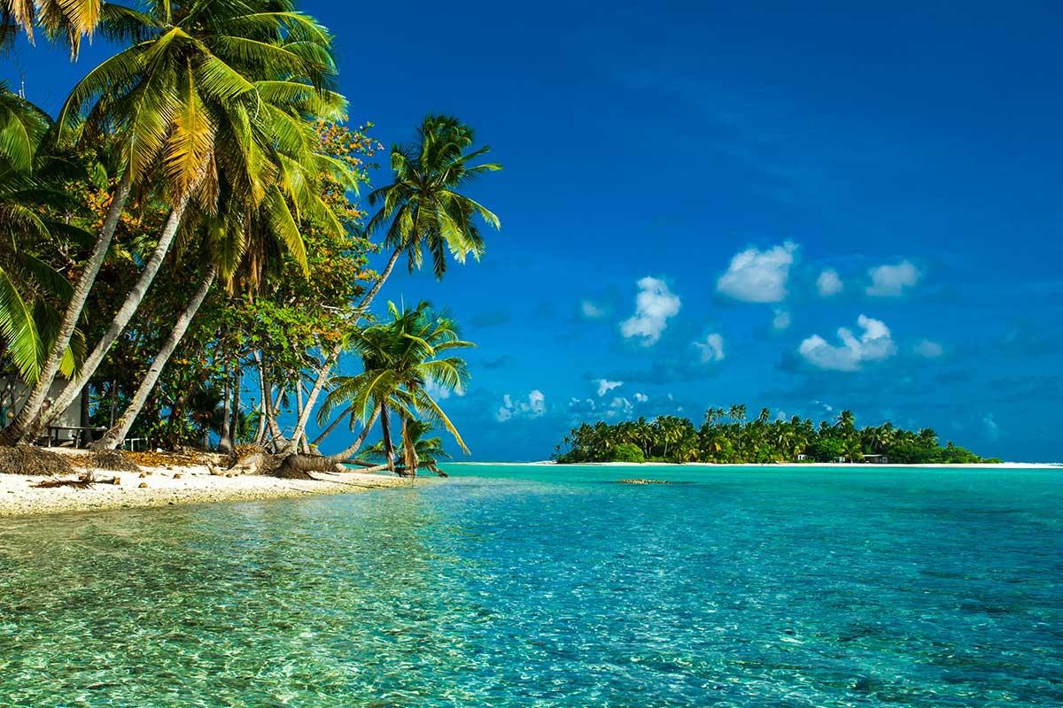 Cocos Keeling Island Beach Ocean Paradise