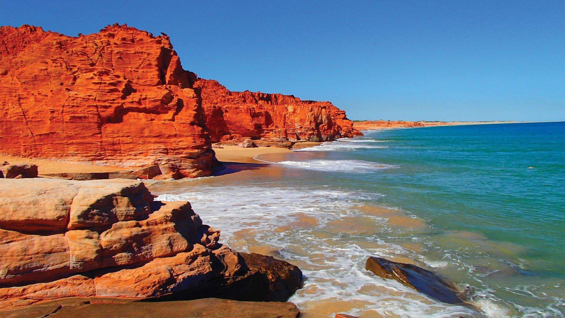 Beach, scenery, destination