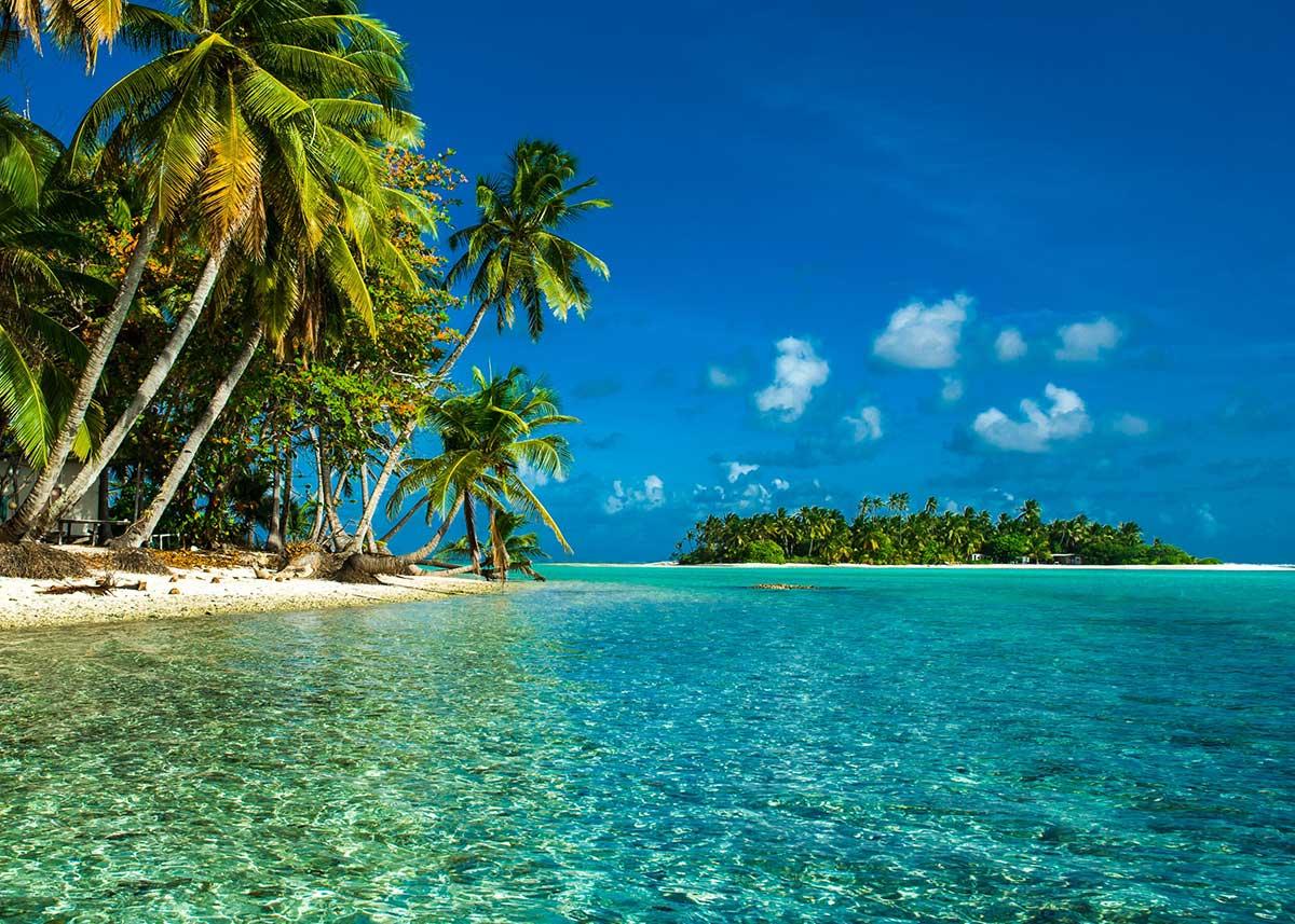 Cocos keeling Island beach